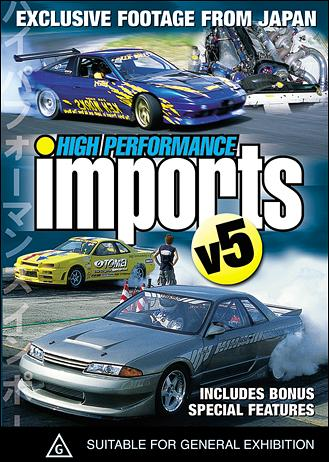 Import History Auto Racing on High Performance Imports Volume 6   Pal Dvd