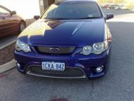 BF GT FRONT BUMPER WITH XR8 BONNET