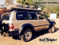 LANDCRUISER 100 SERIES MONSTER KUT SNAKE FLARES