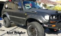 LANDCRUISER 80 SERIES MONSTER KUT SNAKE FLARES