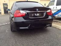 BMW E90 3 SERIES 05 - 11 M3 REAR BUMPER