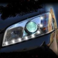 COMMODORE VE DRL CHROME HEADLIGHTS S1 06-10
