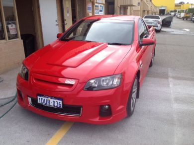 COMMODORE VE GROUP A SCOOP AND SERIES 2 GRILL