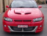 VU MALOO FRONT BUMPER TO SUIT TEARDROP HEADLIGHTS