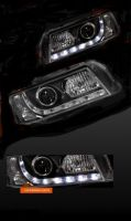 VZ COMMODORE BLACK DRL HEADLIGHTS