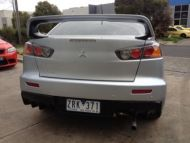 CJ LANCER EVO 10 REAR BUMPER