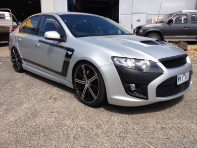 FALCON FG GT FRONT BAR WITH TWIN SCOOP