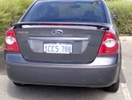 FORD FOCUS 05+ TSS29 REAR WING