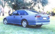 VR-S SS COMMODORE REAR WING