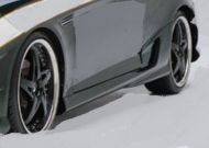HYUNDAI TIBERON 07+ CM SIDE SKIRTS