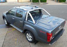 ISUZU D-MAX DUAL CAB 3 PIECE EGR UTELID 2012+