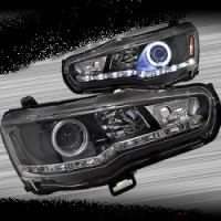 CJ LANCER DRL HEADLIGHT WITH ANGEL EYE
