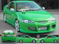CE LANCER COUPE DROID SIDE SKIRTS