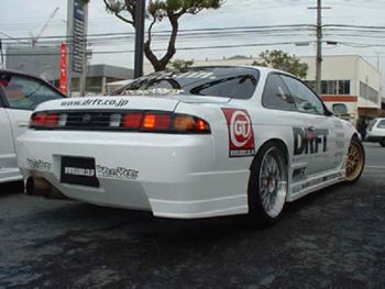 NISSAN S14 C-WEST DRIFT REAR BUMPER SERIES  painted and fitted