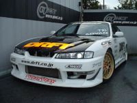 NISSAN S14 C-WEST DRIFT SIDE SKIRTS painted and fitted