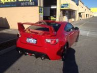 SUBARU BRZ STI REAR WING