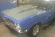 TORANA LC-LJ BONNET WITH 4 INCH REVERSE COWL CAMARO SCOOP FITTED