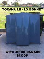 TORANA LH-LX BONNET WITH 4 INCH REVERSE COWL CAMARO SCOOP