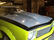 TORANA LH-LX BONNET WITH 4 INCH REVERSE COWL CAMARO SCOOP FITTED