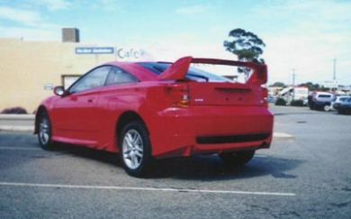 CELICA TRD REAR WING