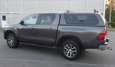 HILUX 2015-2018 FACTORY STYLE UNPAINTED FLARES