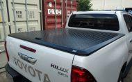 TOYOTA HILUX DUAL CAB LOADSHIELD ALLOY HARD LID 2015+