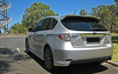 IMPREZA HATCH 07-13 STI REAR WING
