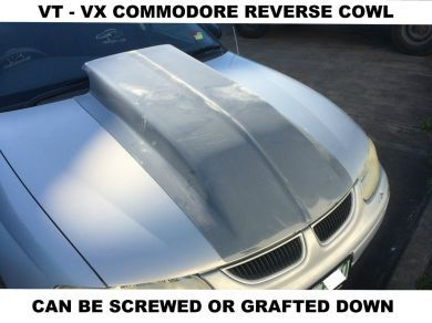 COMMODORE VT-VU-VX 4 INCH RIBBED REVERSE COWL RIBBED SCOOP