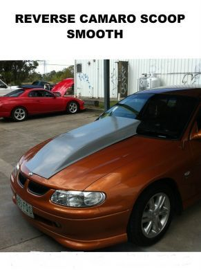 COMMODORE VT-VU-VX 4 INCH REVERSE COWL SMOOTH TOP SCOOP