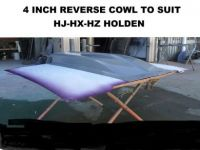 HOLDEN HJ-HX-HZ 4 INCH REVERSE COWL RIBBED SCOOP