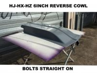 HOLDEN HJ-HX-HZ 6 INCH REVERSE COWL RIBBED SCOOP