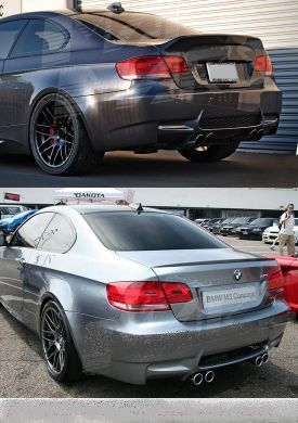 BMW E92 M3 REAR BUMPER