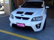 VE GTO G8 BONNET WITH CLUBBY FRONT BUMPER